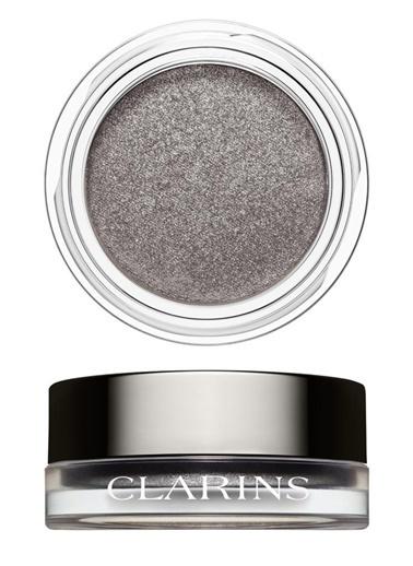 Clarins Clarins Göz Farı - Ombre Iridescente Eyeshadow 10 Silver Grey Gri